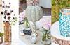 Unikalne dekoracje na stołach weselnych