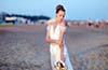Proste letnie suknie ślubne
