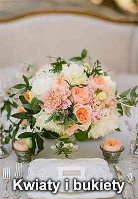 kwiaty i bukiety ślubne