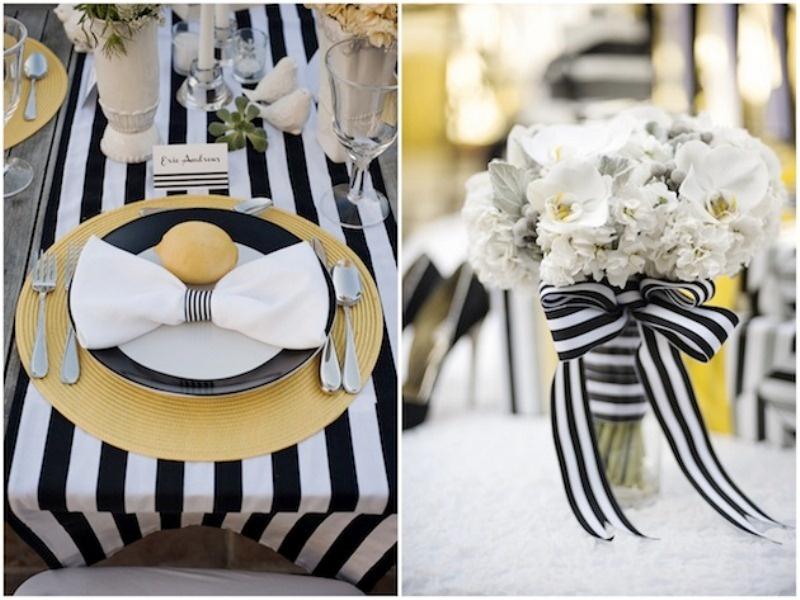 wyjątkowe nakrycia stołu weselnego
